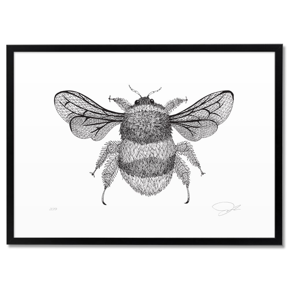 Image of Print: Bumble Bee