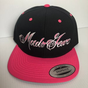 Image of SNAPBACK-MG Black Bill or Pink