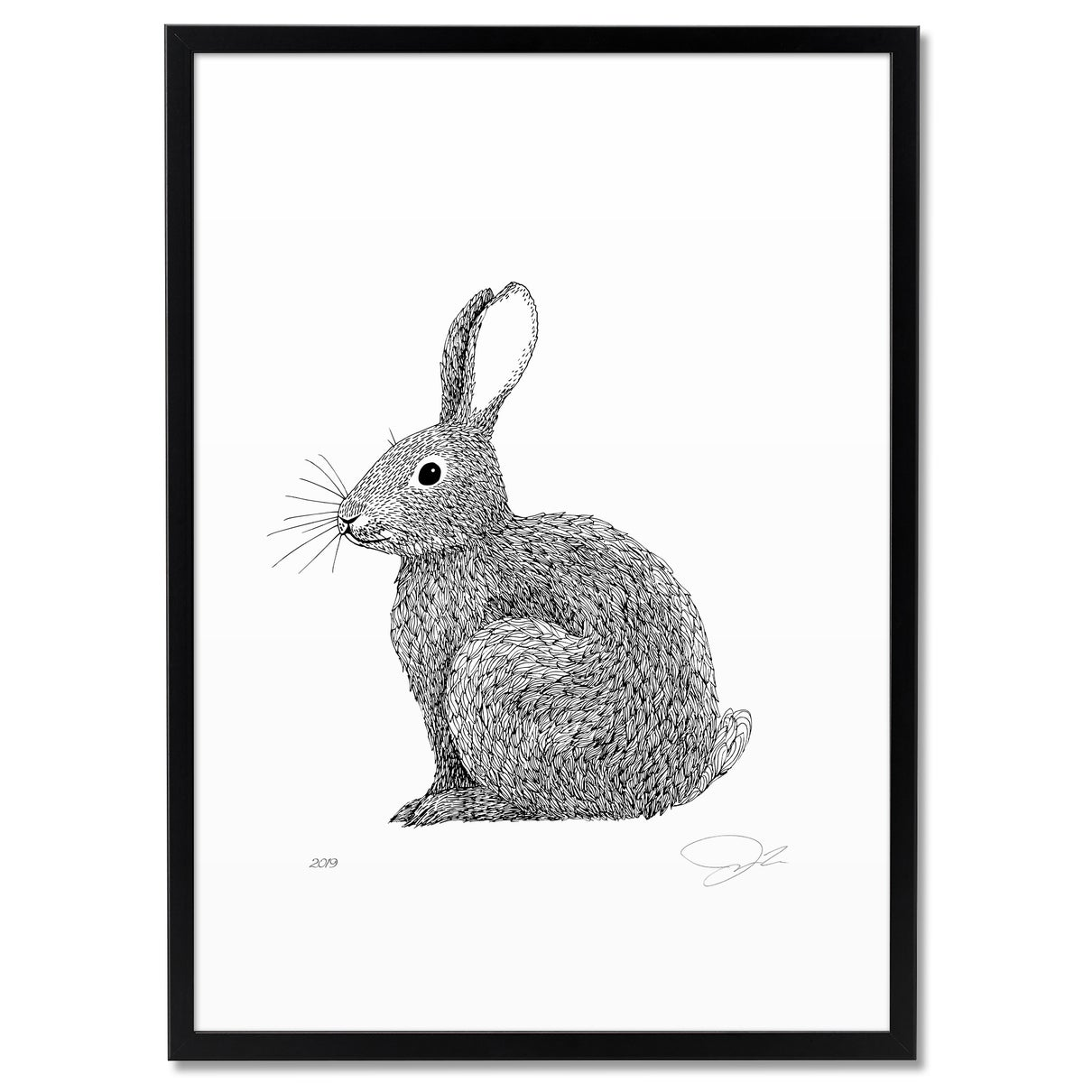 Image of Print: Rabbit