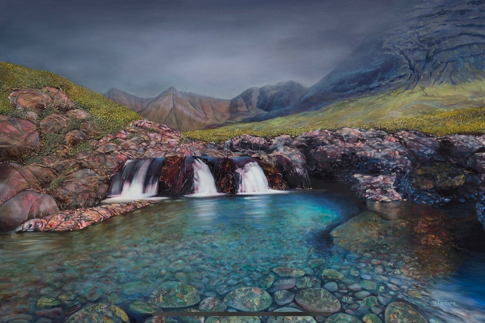 Image of Fairy Pools Skye ALL sizes giclée prints