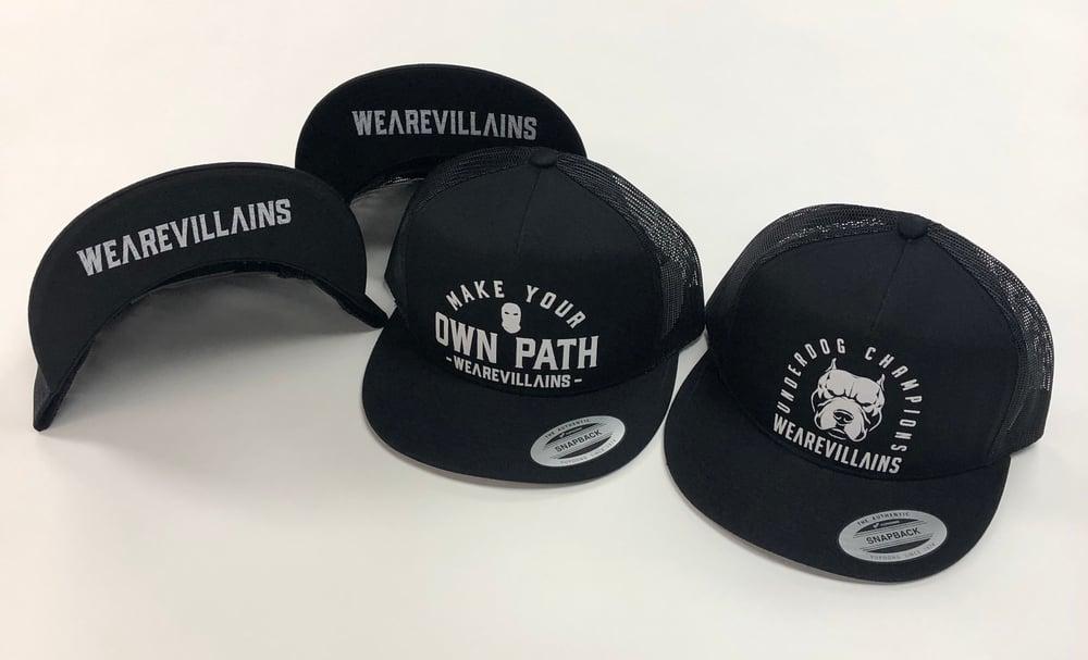 WEAREVILLAINS SNAPBACK HATS