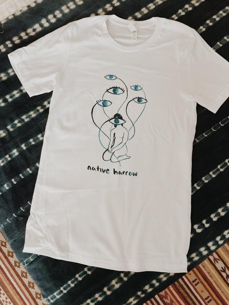 Image of Lady Eyes White T-Shirt