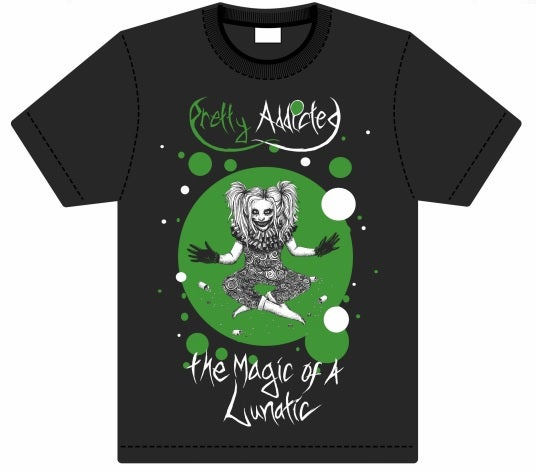 """Image of """"The Magic Of A Lunatic"""" T-Shirts"""