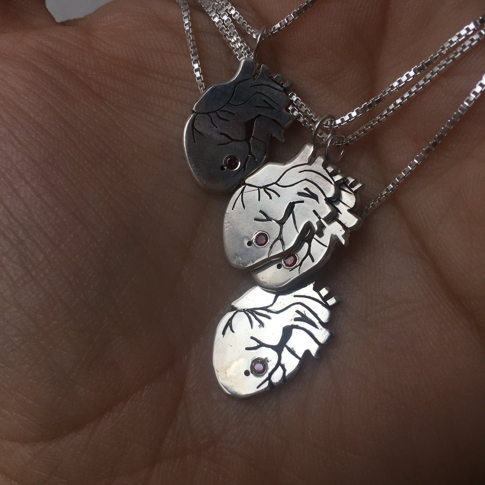 Image of the heart necklace