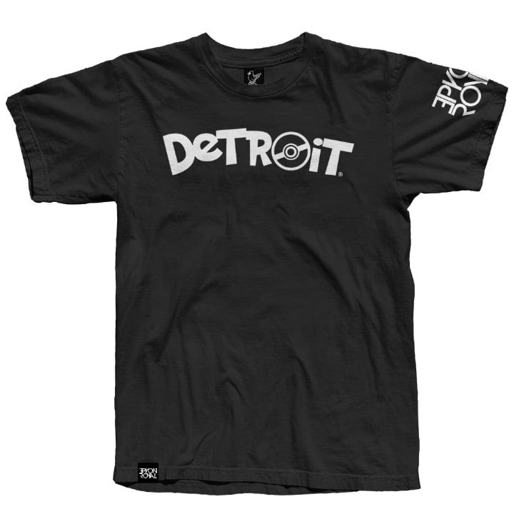 Image of Poke Detroit Black Tee