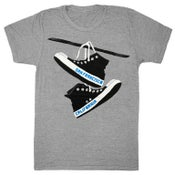 Image of San Francisco Converse T-Shirt - Unisex SM, MD, XL