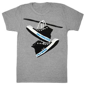 Image of San Francisco Converse T-Shirt - Unisex MD, XL