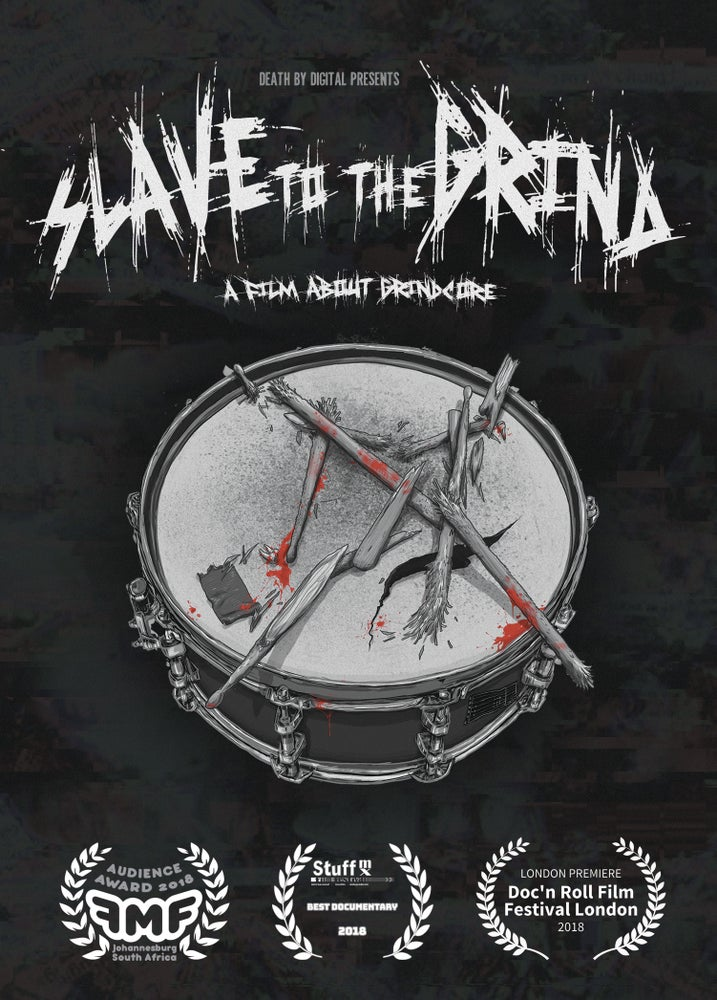 Image of Slave To The Grind DVD - DOUBLE DISC