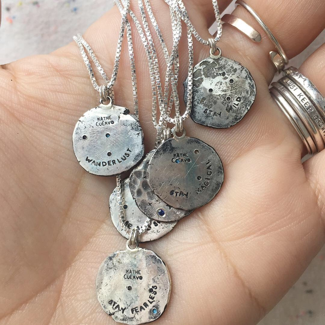 Image of la luna necklace