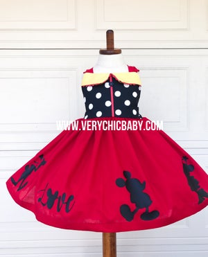 Image of Mickeys Clubhouse Dress