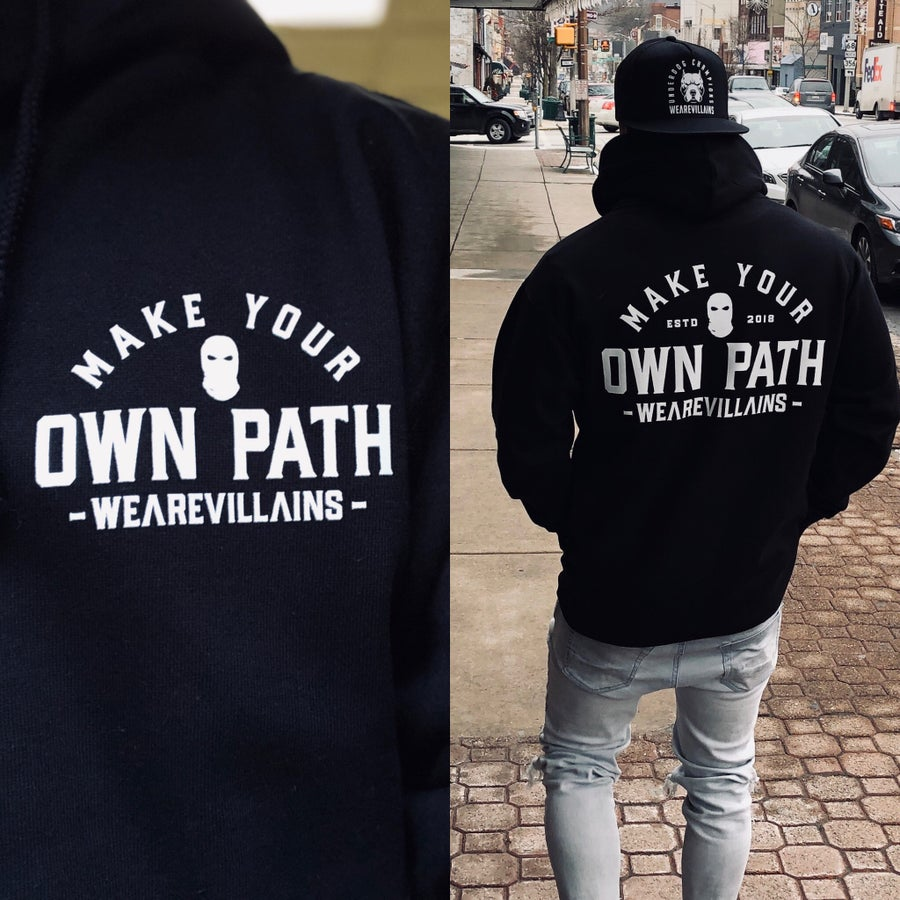 Image of MAKE YOUR OWN PATH hoodie