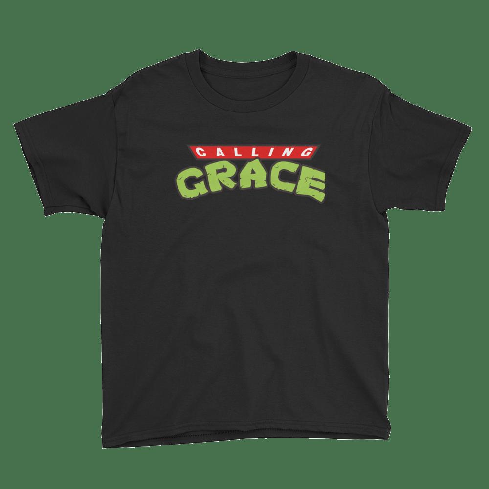 Image of Calling Grace Half Shell - Kids size t shirt