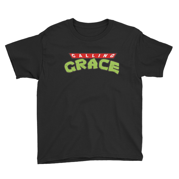 Image of Calling Grace Half Shell - Kids size t shirt