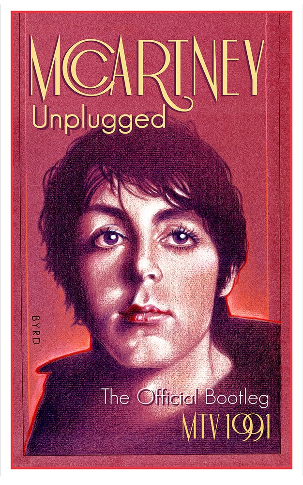 "Image of PAUL McCARTNEY Unplugged  ""The Official Bootleg"" MTV 1991"