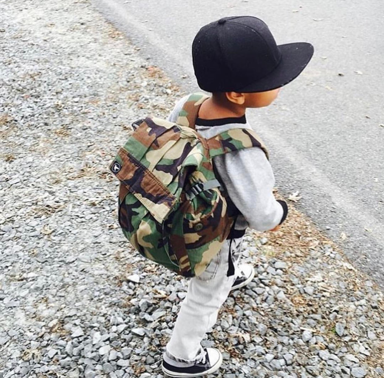 Image of TODDLER & ONTHEGO CAMO TOTE