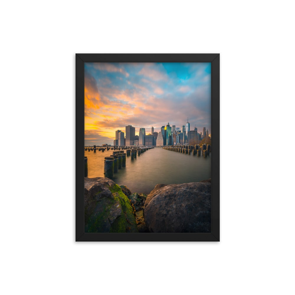 Image of Sunset of Downtown Manhattan