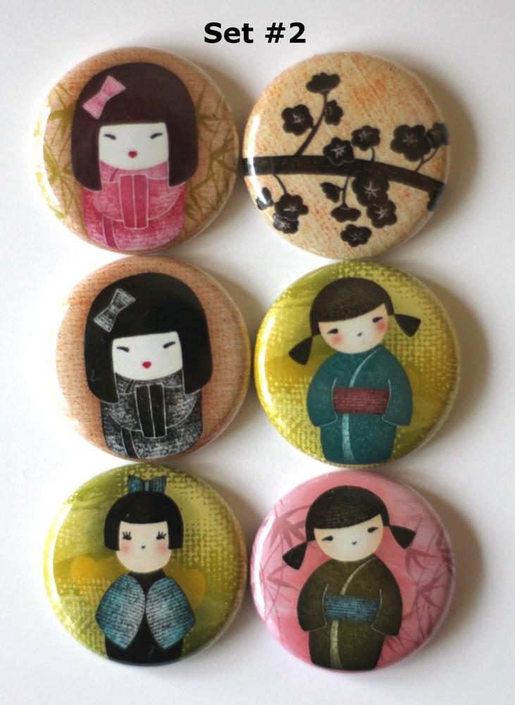 Image of Kokeshi Dolls