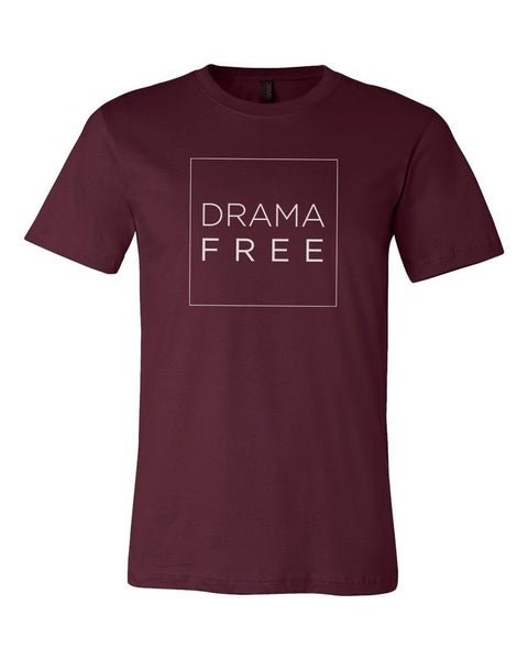 Image of Drama Free Tee--multiple colors