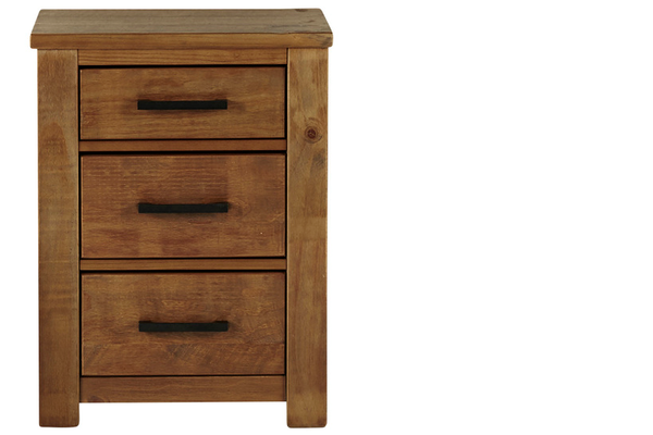 Image of Hillman 3drw Bedside Table