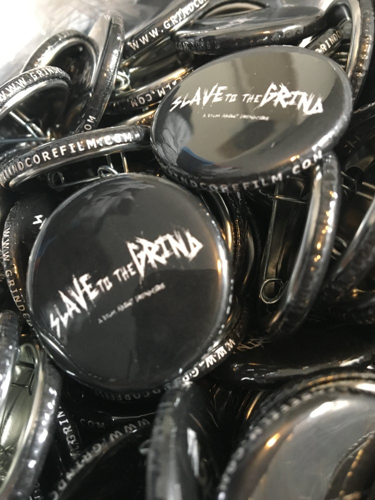 Image of Slave To The Grind Logo Button