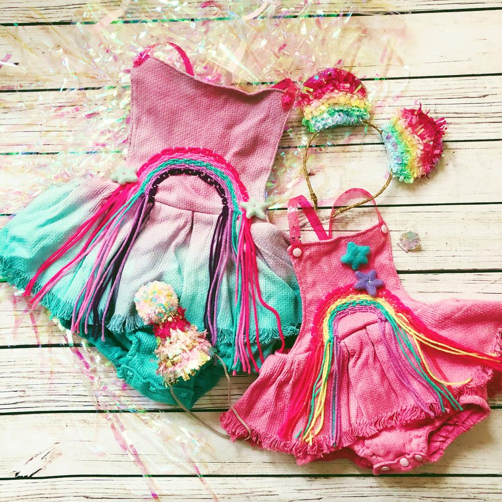 Image of Custom Rainbow Playsuit or Dress