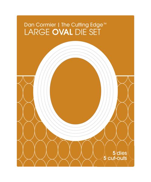 Image of Oval Die Set : LARGE
