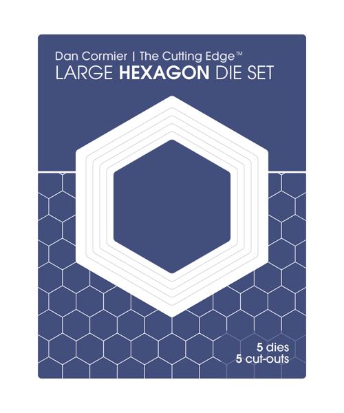 Image of Hexagon Die Set : LARGE