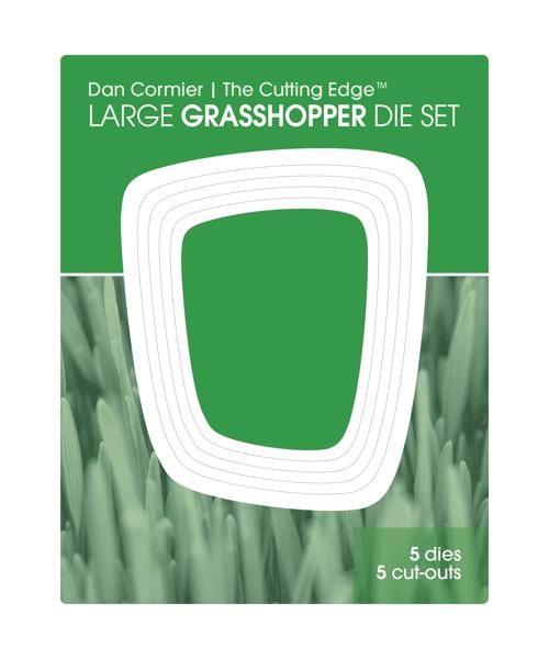 Image of Grasshopper Die Set : LARGE