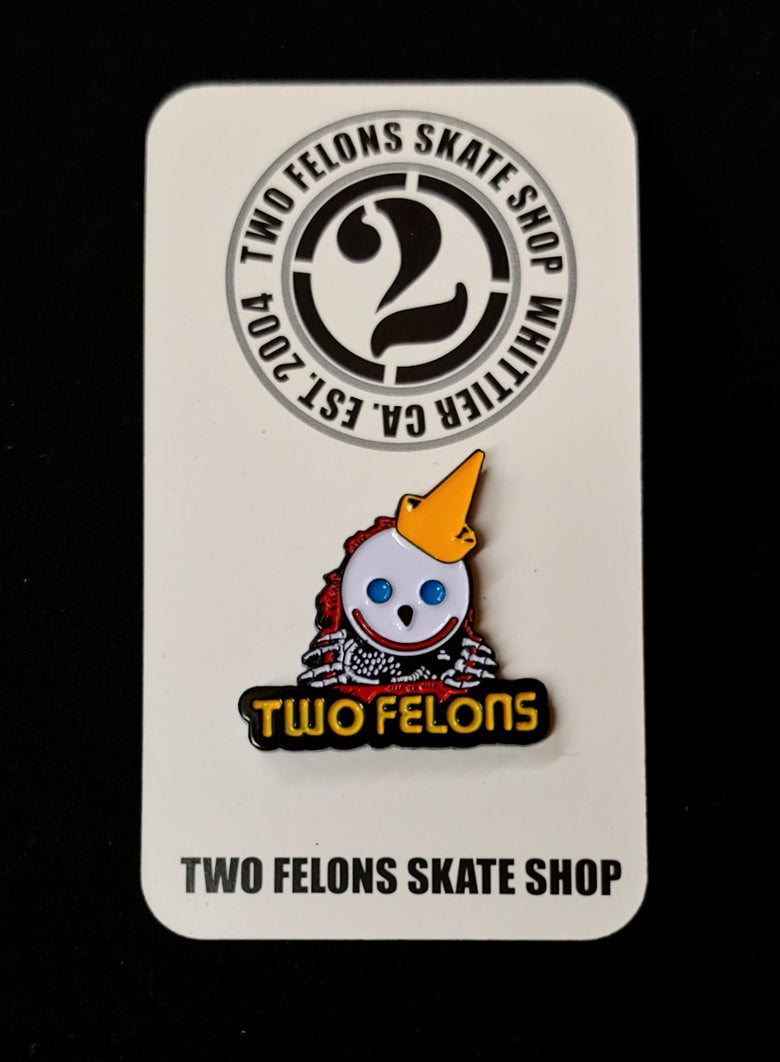 "Image of Two Felons ""Jack The Ripper"" trading pin"