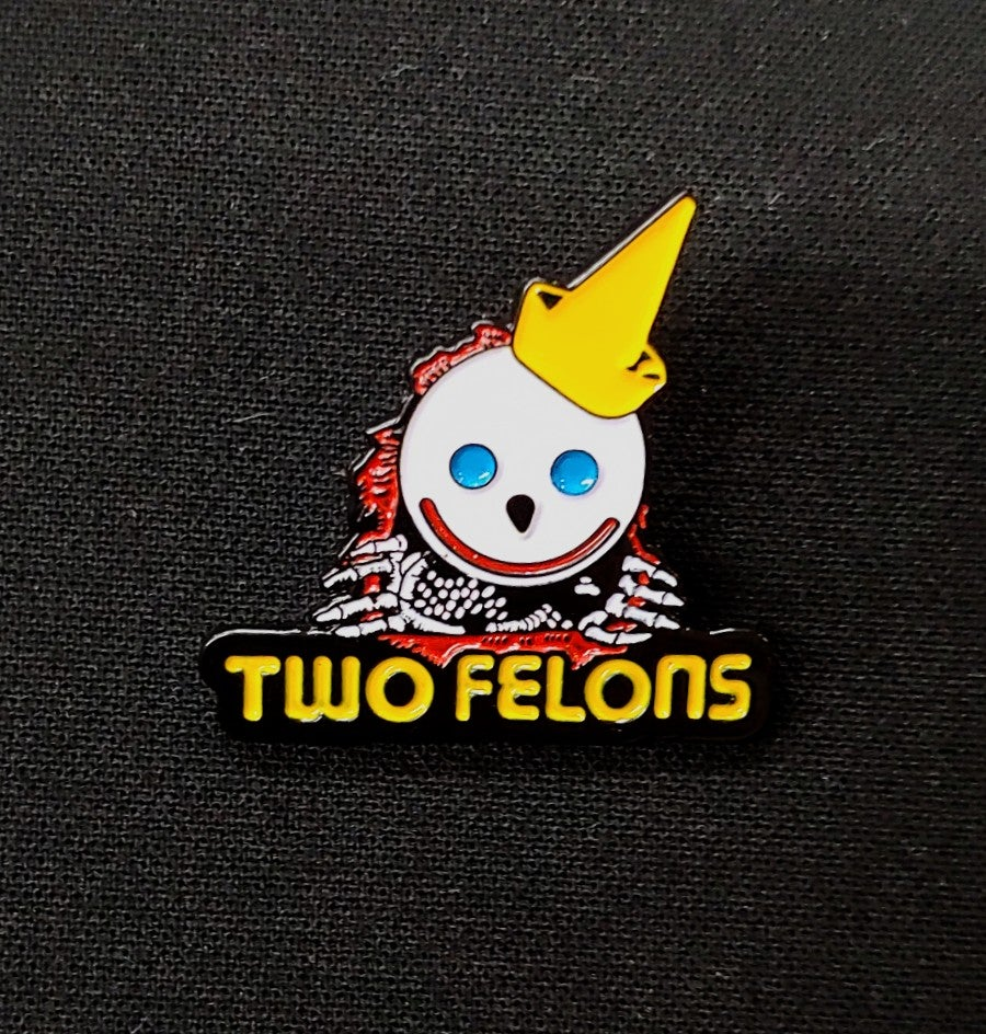 """Two Felons """"Jack The Ripper"""" trading pin"""