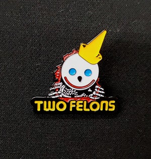 """Image of Two Felons """"Jack The Ripper"""" trading pin"""