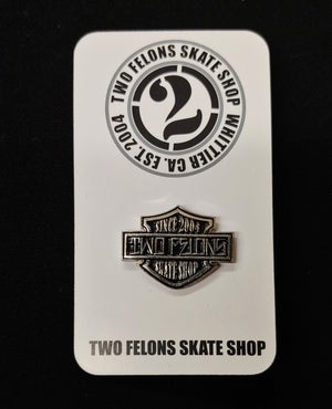 "Image of Two Felons ""HD""  pin"