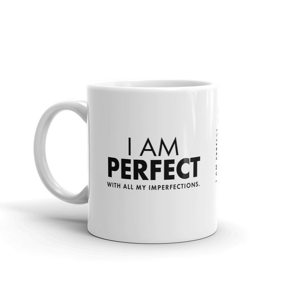 Image of I Am Perfect Mug