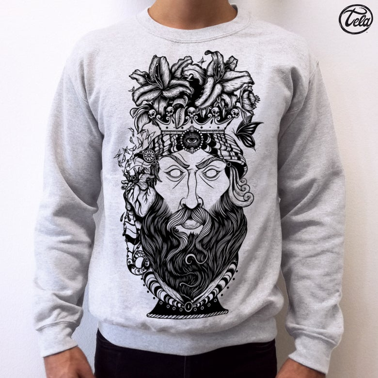 Image of Testa di Moro Tattoo Crewneck