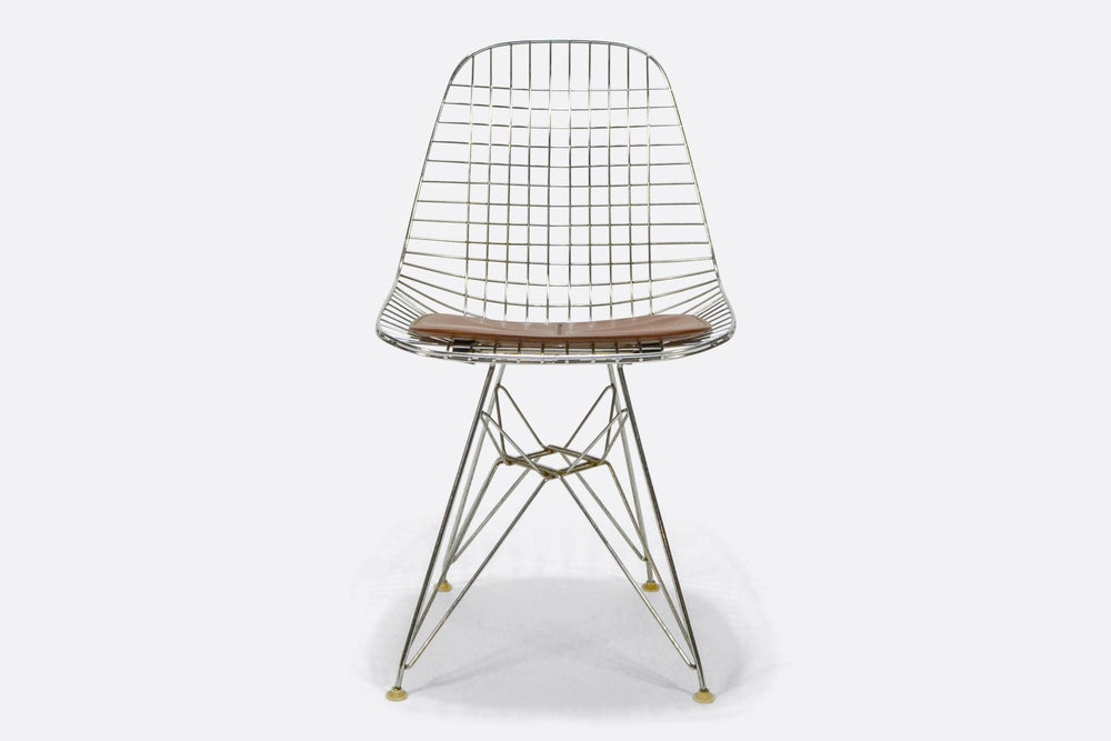 Image of Herman Miller Eames Original Wire Chair DKR