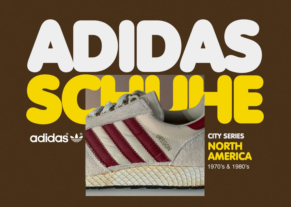 Image of Vintage Adidas Schuhe - North America -  Book 2
