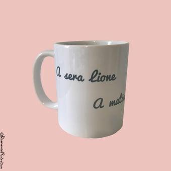 Image of Mug A sera Lione
