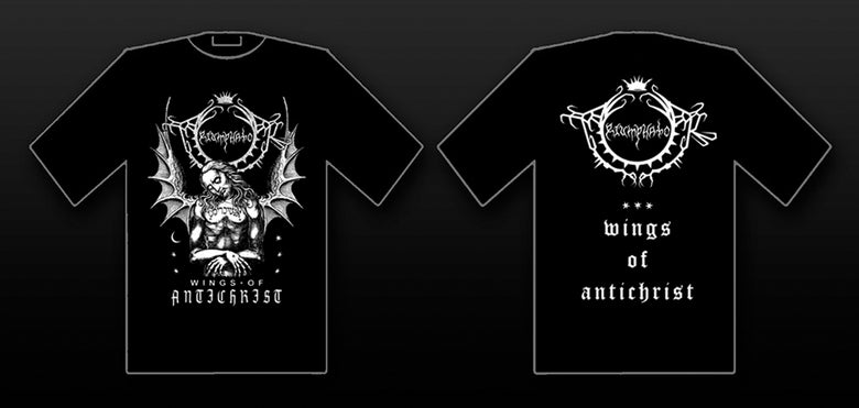 Image of Triumphator - Wings of Antichrist