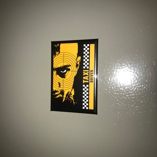"""Image of Taxi Driver by Chris """"QuiltFace"""" Garofalo"""