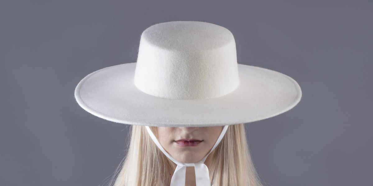 Image of Wool Brim Fedora Hat - 012