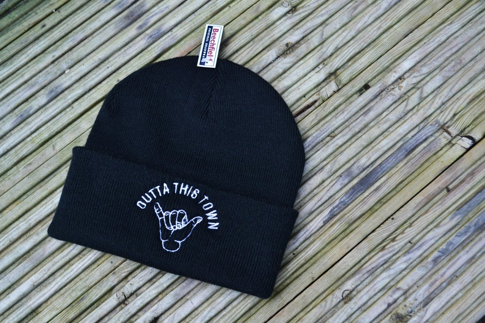 Image of Shaka Beanie Black