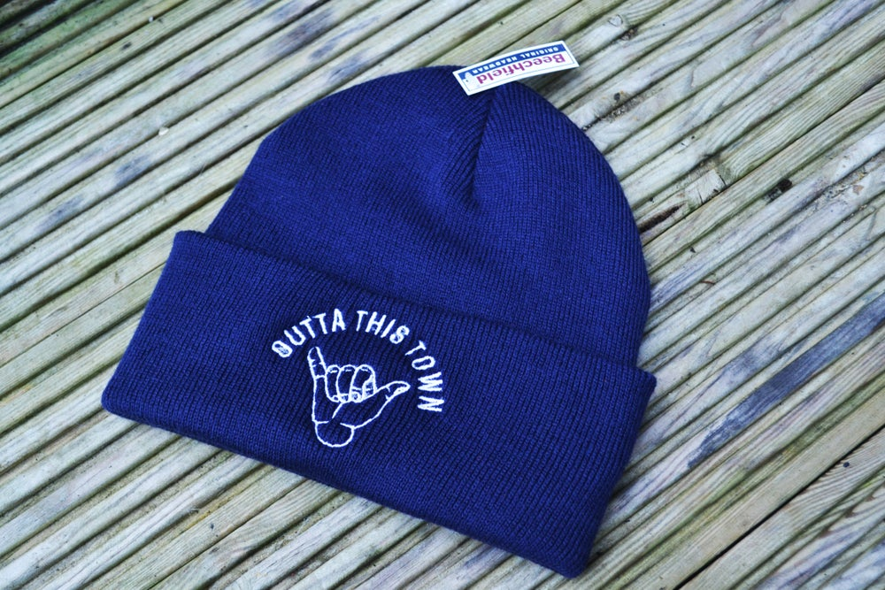 Image of Shaka Beanie French Navy