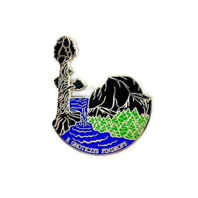 Image of PINDROPS x GHOTICZYS Nor Cal Collab pin