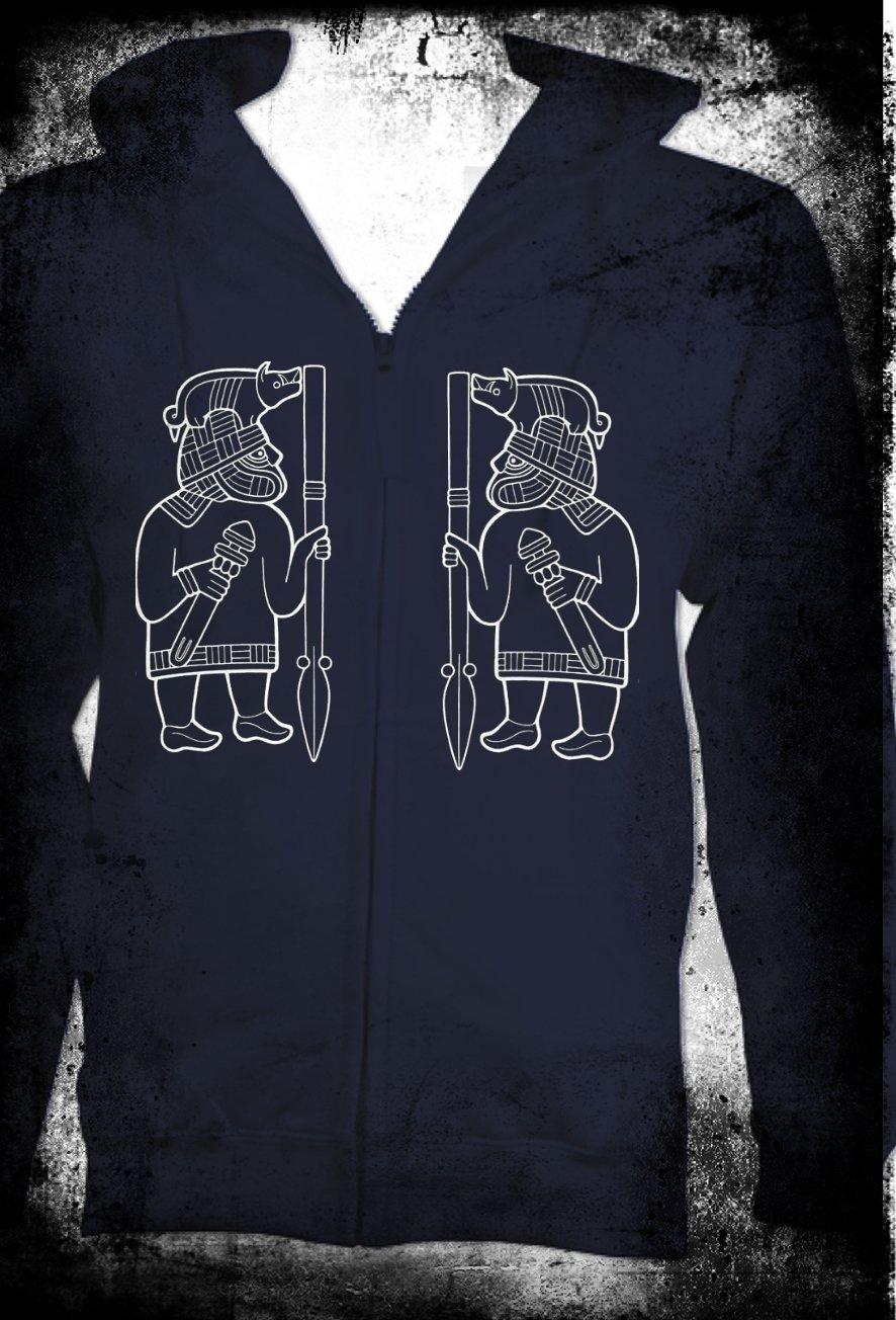 Boar Warriors Zip Hoodie