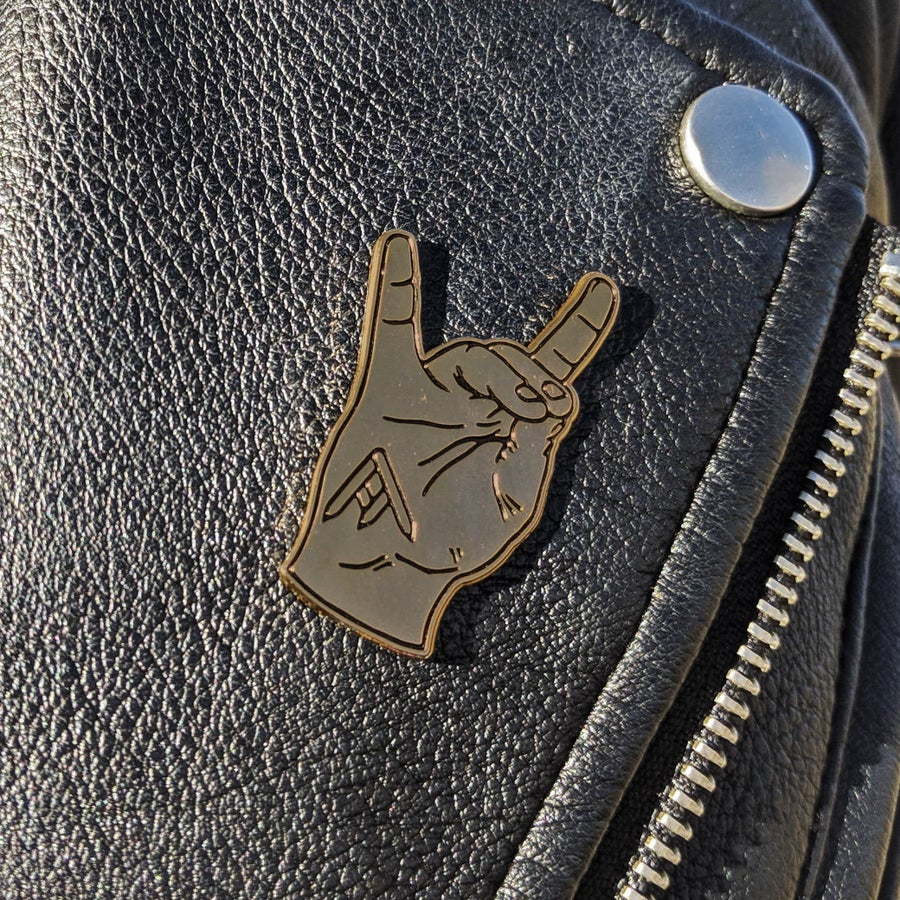 Image of Hell Yeah Pin