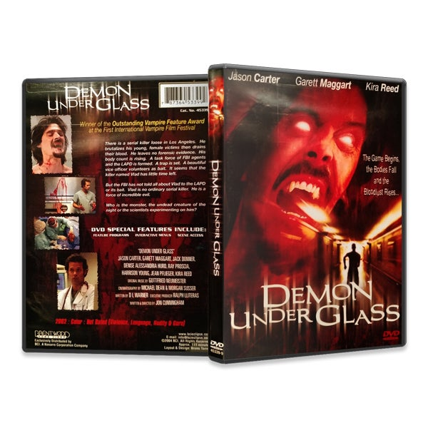 Image of Demon Under Glass (DVD)