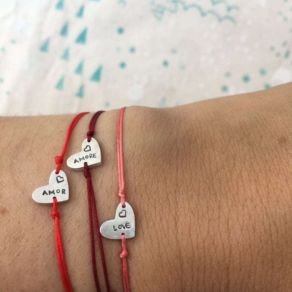 Image of heart bracelet