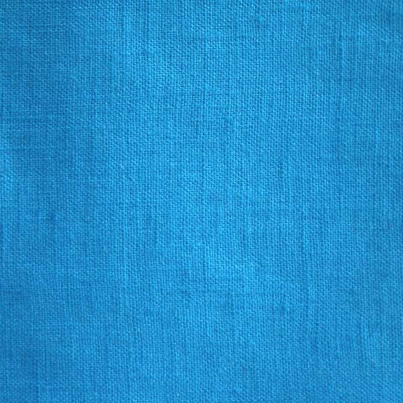 Image of Linen Fabric Square for Crewel Embroidery - Royal Blue