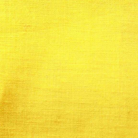 Image of Linen Fabric Square for Crewel Embroidery - Bright Yellow