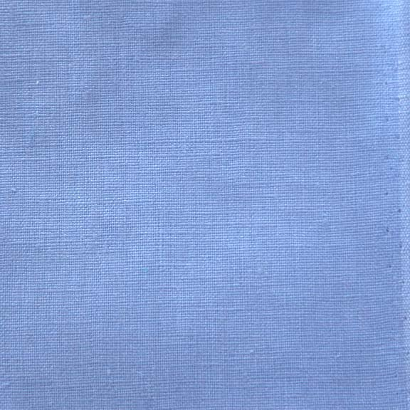 Image of Linen Fabric Square for Crewel Embroidery - Cornflower Blue